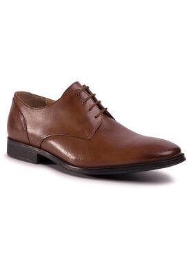 Clarks Clarks Pantofi Gilman Plaln 261475797 Maro