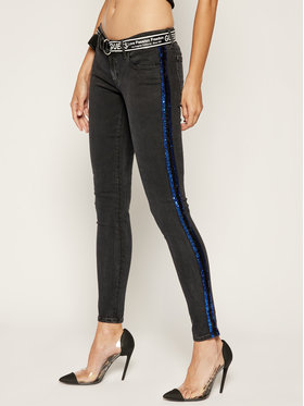Guess Guess Jeans Slim Fit Marilyn W93A41 D3KA4 Nero Slim Fit