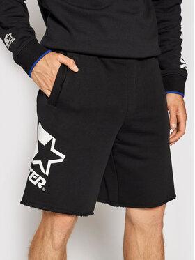 Starter Starter Pantaloni scurți sport SMG-018-BD Negru Regular Fit