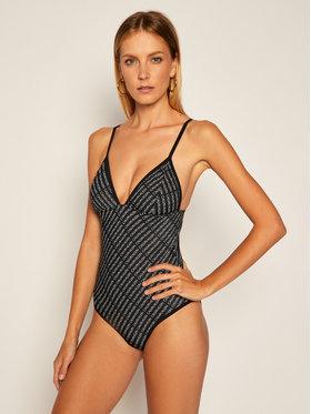 Calvin Klein Swimwear Calvin Klein Swimwear Bikiny Triangle One Piece KW0KW00999 Černá