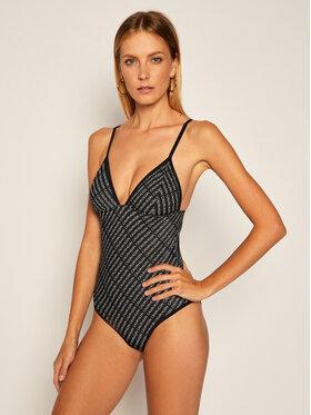 Calvin Klein Swimwear Calvin Klein Swimwear Costum de baie Triangle One Piece KW0KW00999 Negru