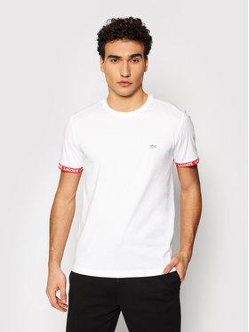 Lacoste Lacoste T-shirt TH0144 Blanc Slim Fit