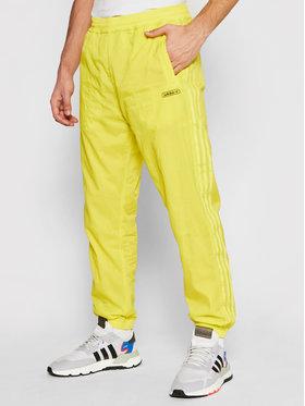 adidas adidas Долнище анцуг Reverse Track GN3821 Жълт Regular Fit