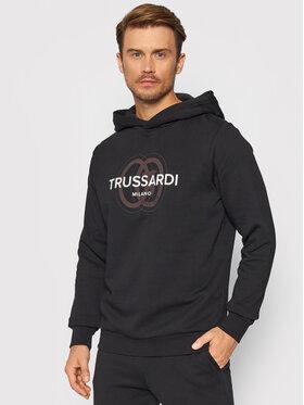 Trussardi Trussardi Суитшърт 52F00179 Черен Regular Fit