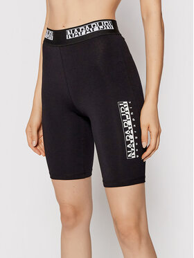 Napapijri Napapijri Biciklističke kratke hlače N-Box NP0A4FVC Crna Slim Fit
