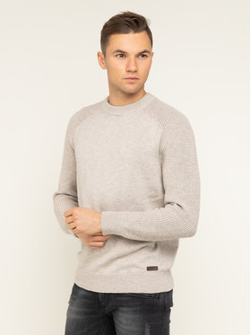 Pepe Jeans Pepe Jeans Pullover Teo PM701989 Beige Regular Fit