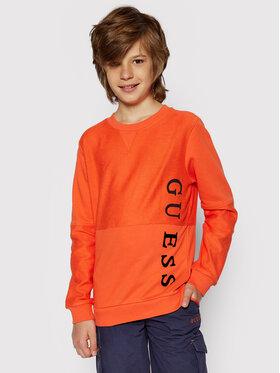 Guess Guess Bluza L1RQ09 KA6R0 Pomarańczowy Regular Fit