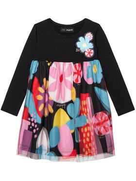 Desigual Desigual Ежедневна рокля Vest Cordoba 20WGVK62 Цветен Regular Fit