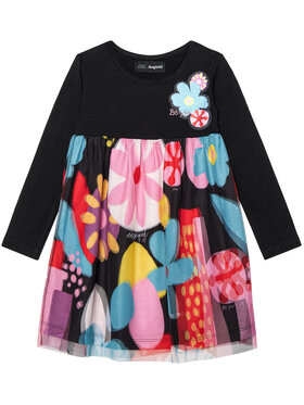 Desigual Desigual Sukienka codzienna Vest Cordoba 20WGVK62 Kolorowy Regular Fit
