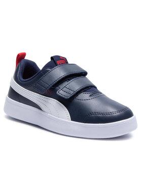 Puma Puma Sneakersy Courtflex v2 V PS 37154301 Granatowy