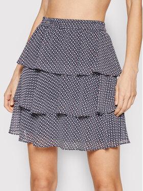 MICHAEL Michael Kors MICHAEL Michael Kors Mini sukně MS1701D20K Tmavomodrá Regular Fit