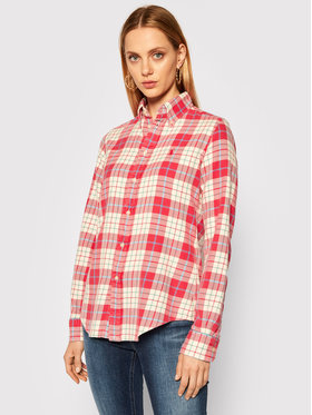 Polo Ralph Lauren Polo Ralph Lauren Košile 211801083002 Červená Regular Fit