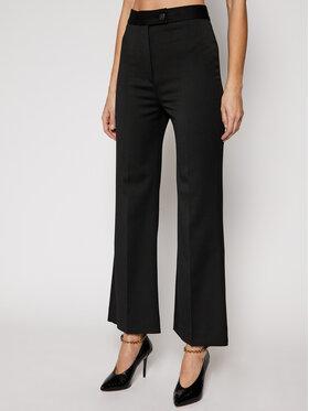 Victoria Victoria Beckham Victoria Victoria Beckham Spodnie materiałowe Lightweight Stretch 2121WTR002202A Czarny Slim Fit