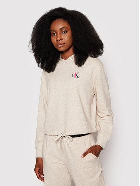 Calvin Klein Underwear Calvin Klein Underwear Mikina 000QS6427E Béžová Regular Fit