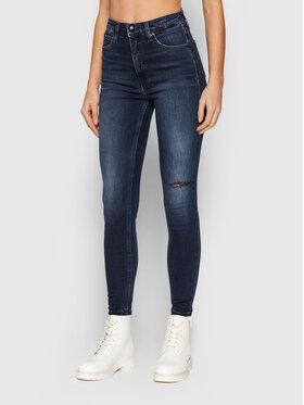 Calvin Klein Jeans Calvin Klein Jeans Jeansy J20J217081 Granatowy Skinny Fit