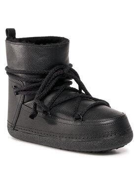 Inuikii Inuikii Boty Full Leather 50101-089 Černá
