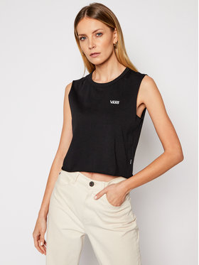 Vans Vans Top Junior V Muscle Crop VN0A4DNG Negru Cropped Fit