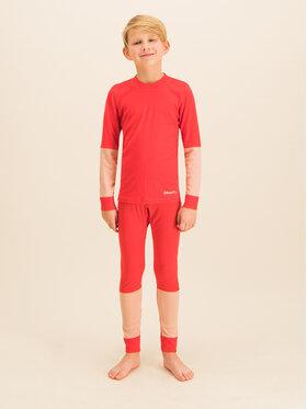 Craft Craft Komplet termoaktivního prádla Baselayer Seamless 1905355 Oranžová Slim Fit
