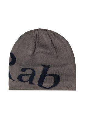 Rab Rab Kepurė Logo Beanie QAA-09-GB-U Pilka