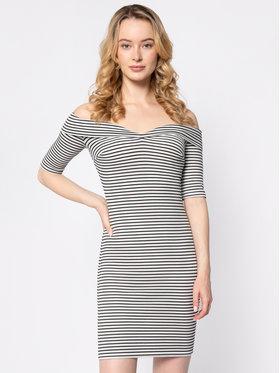 Guess Guess Kleid für den Alltag Bridig W0GK83 K9OV0 Weiß Slim Fit