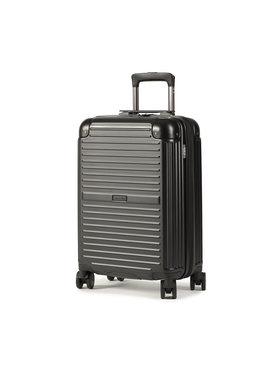 Puccini Puccini Kis kemény borítású bőrönd Dallas PC027C 1 Fekete