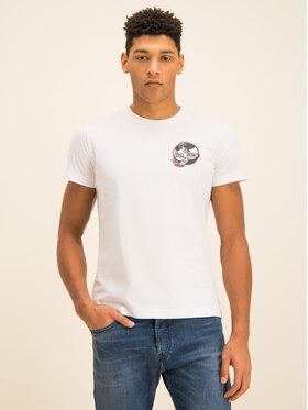 Diesel Diesel T-shirt T-Diego-J10 00SASM 0091A Blanc Regular Fit