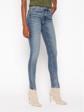 Calvin Klein Jeans Calvin Klein Jeans Blugi Skinny Fit J20J214541 Albastru Slim Fit