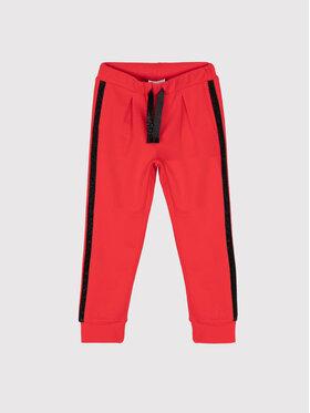 Coccodrillo Coccodrillo Spodnie dresowe ZC1120101ROC Czerwony Regular Fit
