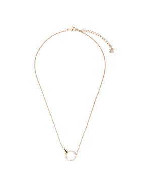 Swarovski Swarovski Ogrlica Necklace Hand 5489573 Ružičasta