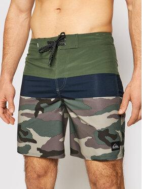"""Quiksilver Quiksilver Pantaloni scurți pentru înot Surfsilk Panel 18"""" EQYBS04584 Verde Regular Fit"""