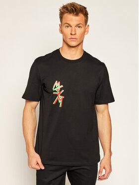 MSGM MSGM T-Shirt 2940MM70 207598 Czarny Regular Fit