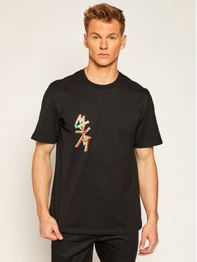 MSGM MSGM T-shirt 2940MM70 207598 Nero Regular Fit