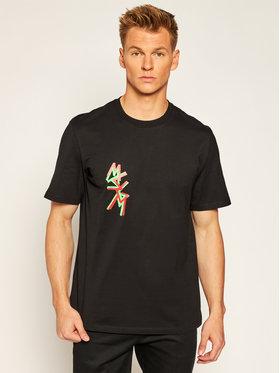MSGM MSGM T-shirt 2940MM70 207598 Noir Regular Fit