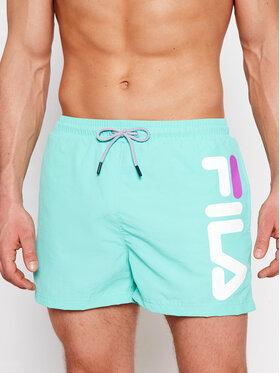 Fila Fila Pantaloni scurți pentru înot Michi 688922 Verde Regular Fit