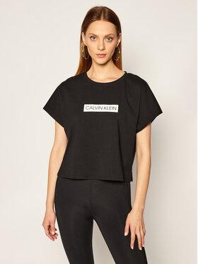 Calvin Klein Performance Calvin Klein Performance T-Shirt 00GWT0K126 Czarny Regular Fit