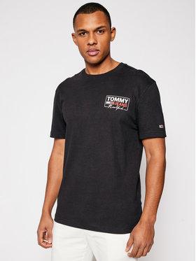 Tommy Jeans Tommy Jeans T-shirt Script Box DM0DM10216 Nero Regular Fit
