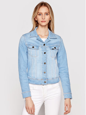 Lee Lee Jeansová bunda Rider L541PQXL Modrá Slim Fit