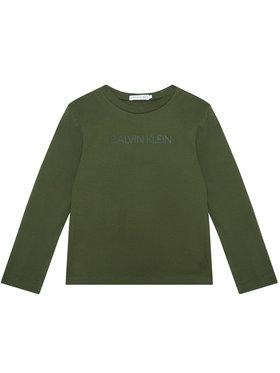 Calvin Klein Jeans Calvin Klein Jeans Блуза Institutional IB0IB00599 Зелен Regular Fit