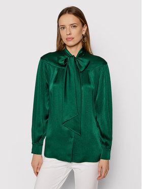 Luisa Spagnoli Luisa Spagnoli Риза Lettere 538479 Зелен Regular Fit