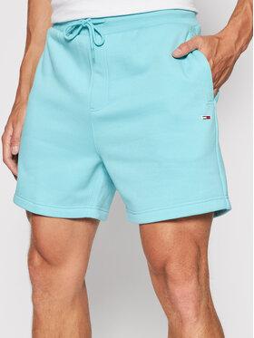Tommy Jeans Tommy Jeans Szorty sportowe Tjm Tommy Classics Beach DM0DM10632 Niebieski Regular Fit