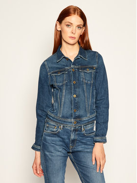 Pepe Jeans Pepe Jeans Kurtka jeansowa Core PL400654 Granatowy Regular Fit