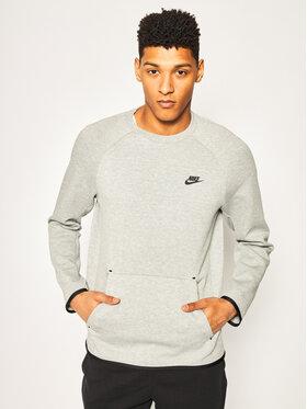 NIKE NIKE Sweatshirt Nsw Tech 928471 Grau Standard Fit