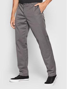 Carhartt WIP Carhartt WIP Kalhoty z materiálu Master I020074 Šedá Relaxed Fit
