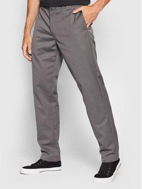 Carhartt WIP Carhartt WIP Pantalon en tissu Master I020074 Gris Relaxed Fit