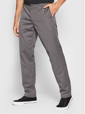 Carhartt WIP Carhartt WIP Pantaloni din material Master I020074 Gri Relaxed Fit