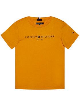 TOMMY HILFIGER TOMMY HILFIGER T-Shirt Essential Tee KB0KB05844 M Orange Regular Fit