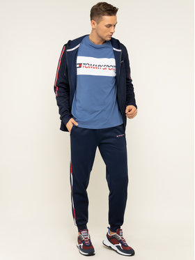 Tommy Sport Tommy Sport T-shirt Logo Driver S20S200486 Bleu Regular Fit