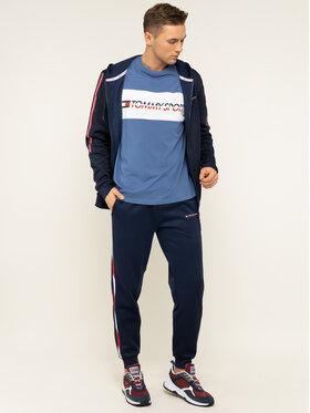 Tommy Sport Tommy Sport T-Shirt Logo Driver S20S200486 Niebieski Regular Fit