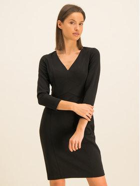 DKNY DKNY Sukienka koktajlowa DD9J1342 Czarny Regular Fit