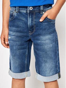 Pepe Jeans Pepe Jeans Džinsiniai šortai Tracker PB800337 Mėlyna Slim Fit